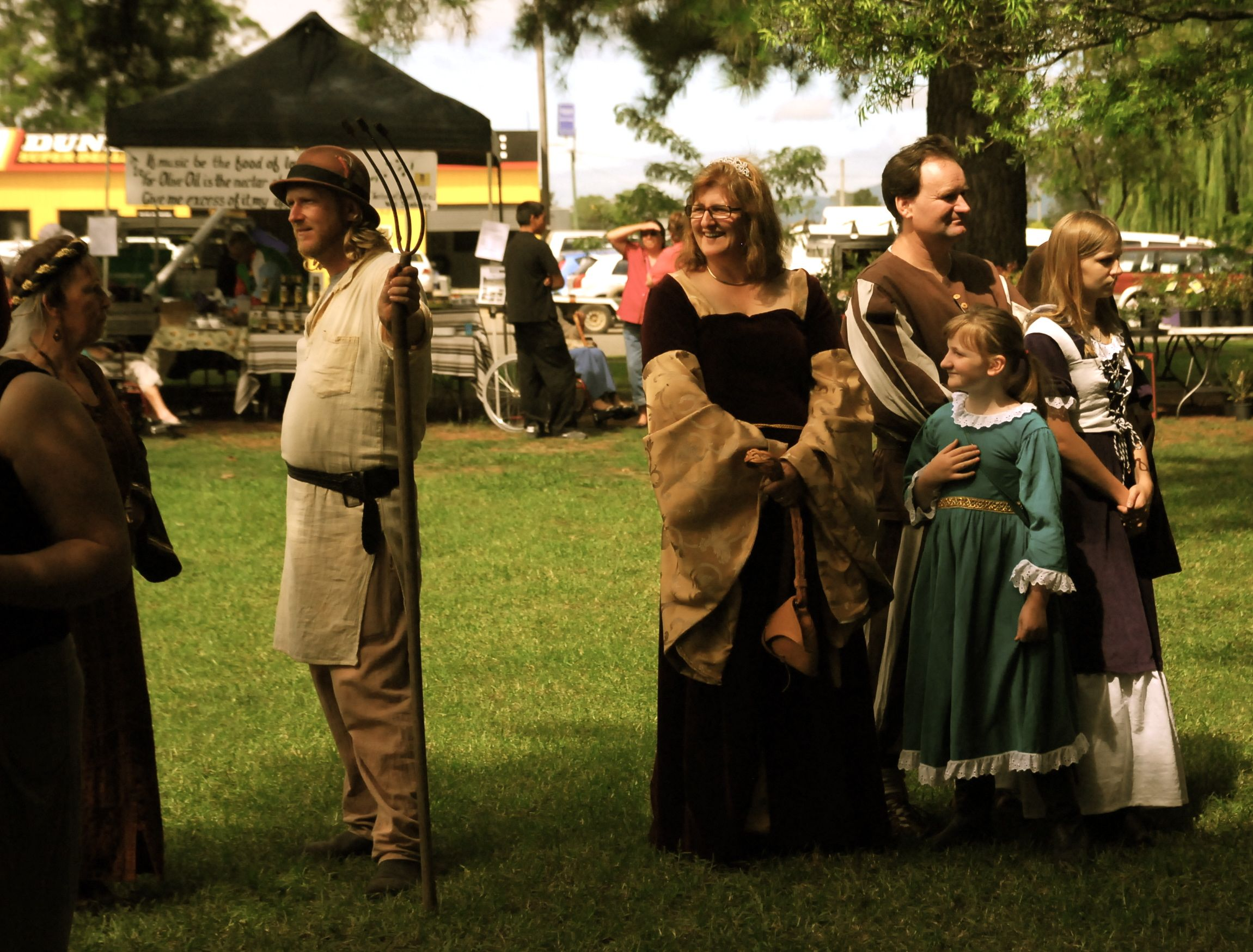 Shakespeare in the Park | Two Becs in a Paddock