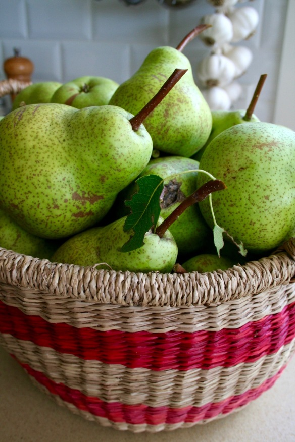 More pears
